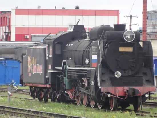 Far Eastern District, Russia: STEAM LOCO