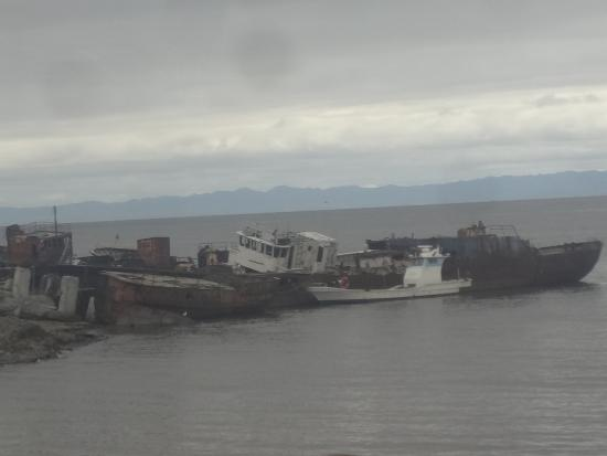 Far Eastern District, Russia: RUSTING SHIPS