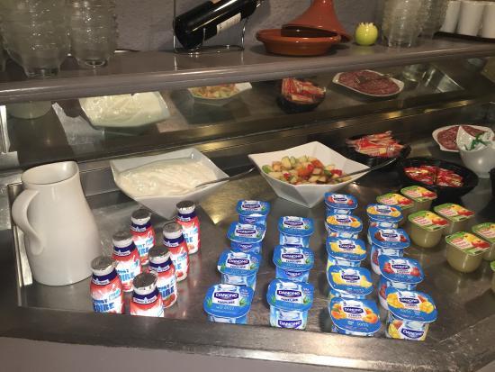 Kyriad Besancon - Palente : petit déjeuner froid