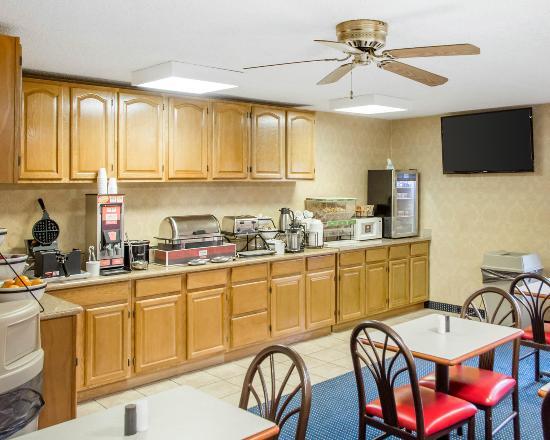 Piketon, OH: Breakfast Area