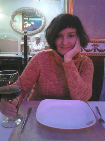 Kafkas Hotel Istanbul: Ужин