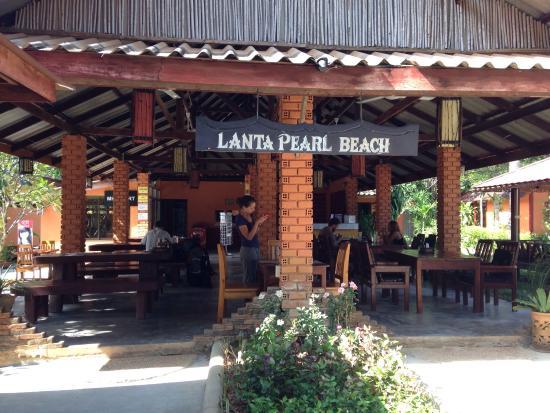 Lanta Pearl Beach Resort: The Pearl restaurant Yummy yummy :-)