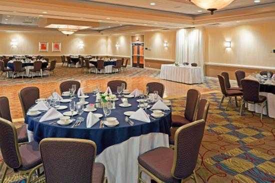 Trevose, Πενσυλβάνια: Yardley Ballroom, accommodating functions up to 225 guests