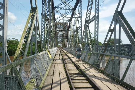 Sixaola, Kosta Rika: Puente
