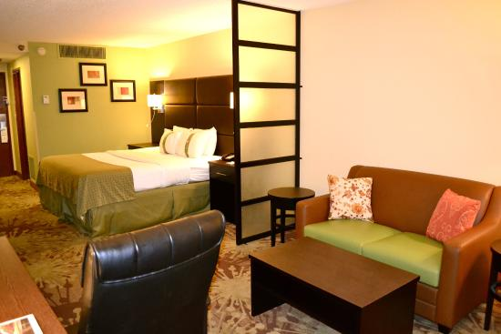 Morgantown, PA: All King Rooms have this brand new pull out Sofa Bed