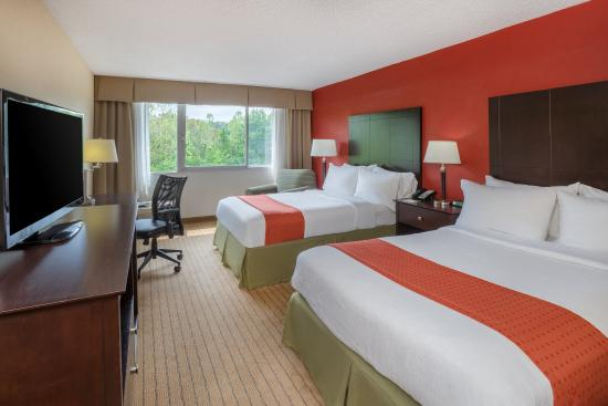 Holiday Inn Charlottesville-Monticello: Double Bed Guest Room