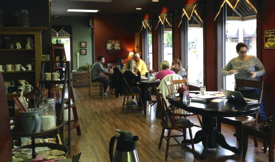 Nappanee, Ιντιάνα: Main Street Coffee House