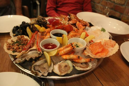starter - sea food platter - photo de fjord eat & drink, rotterdam
