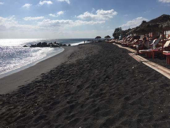 Black Beach Santorini Picture Of Perissa Tripadvisor