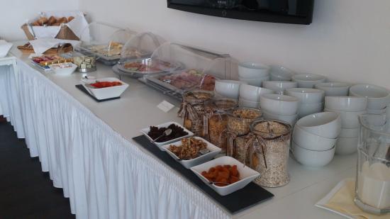 Bergschloesschen Hotel: Super Frühstücksbuffet!