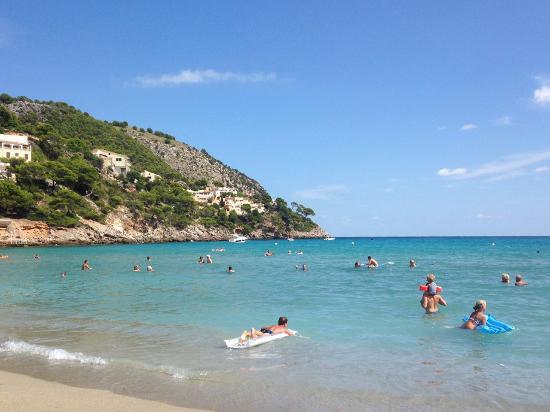 Hotel Mayurca: Пляж, 100 м от отеля