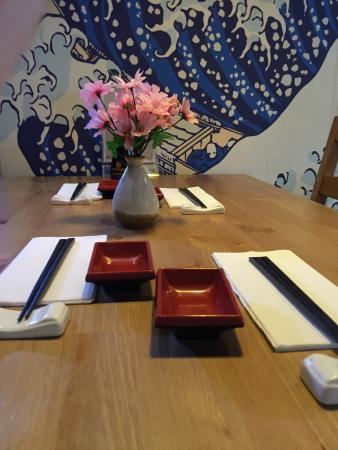 Nara Japanese Restaurant Nara Table Setting & Nara Table Setting - Picture of Nara Japanese Restaurant ...