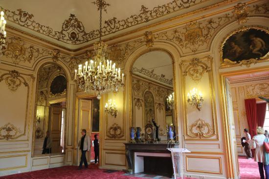 Paris palais du luxembourg s nat salon pourpre for Le salon in french