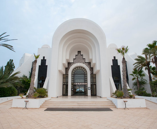Entrance at the Radisson Blu Palace Resort & Thalasso, Djerba