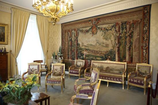 Paris palais du luxembourg sénat bureau de m gérard larcher