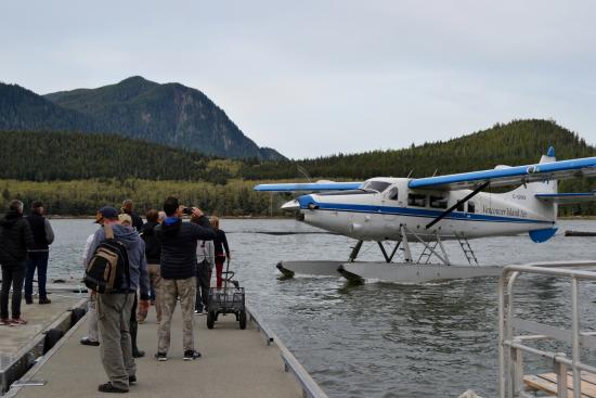 Glendale Cove, Канада: Seaplane Transport Fly Back to Campbell River