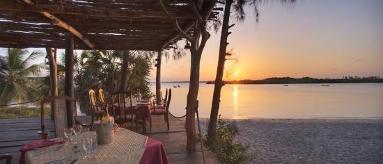 Funzi Island, Kenya : Pool Deck