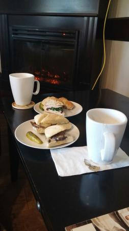 St. Stephen, Canada : Something's Brewing Cafe