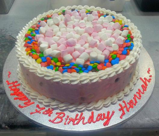 ice cream birthday cake Picture of Cold Rock Ice Creamery