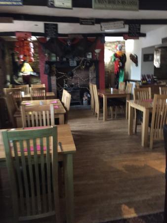 Longhope, UK: Dining area