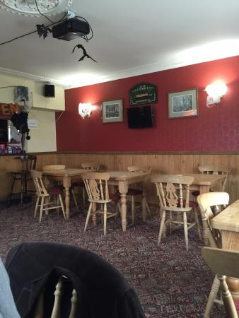 Longhope, UK: Bar area