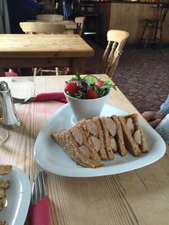 Longhope, UK: Sausage sandwich