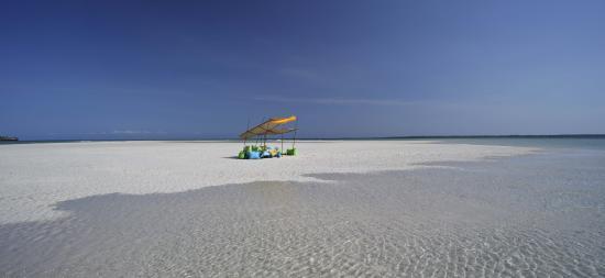 Funzi Island, Kenya : Sandbank