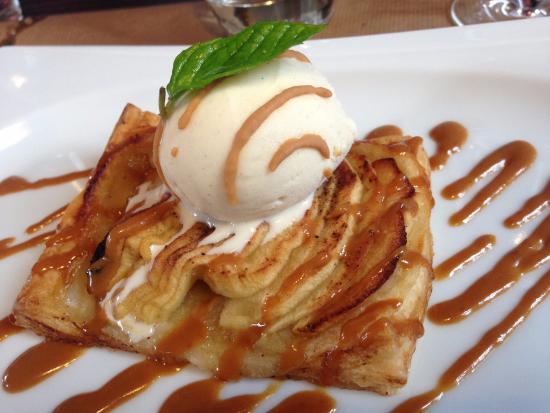 La Gare : tarte aux pommes