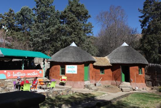 Morija, Λεσόθο: Le resto au village