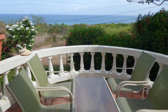 Hacienda Tamarindo: View from balcony
