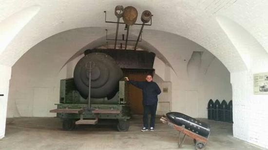 Hurst Castle: One of the gun battery's at the castle