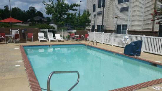 Microtel Inn & Suites by Wyndham Starkville: Pool