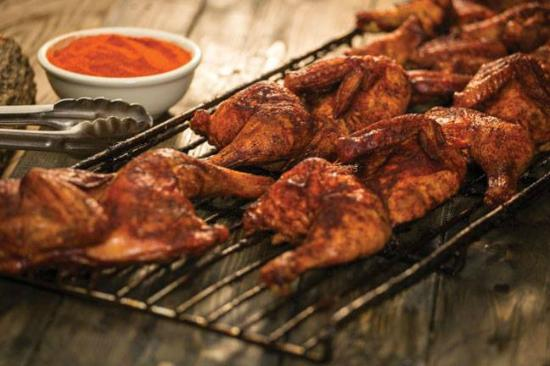 Sticky Fingers: Quarter Smoked Chicken