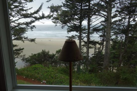 Tyee Lodge: View from Yaquina room