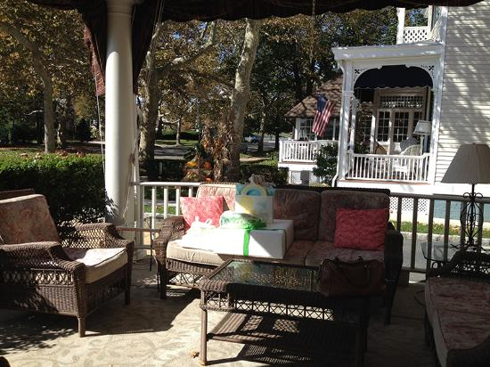 Front Porch at The Ocean House - Kate's Baby Shower
