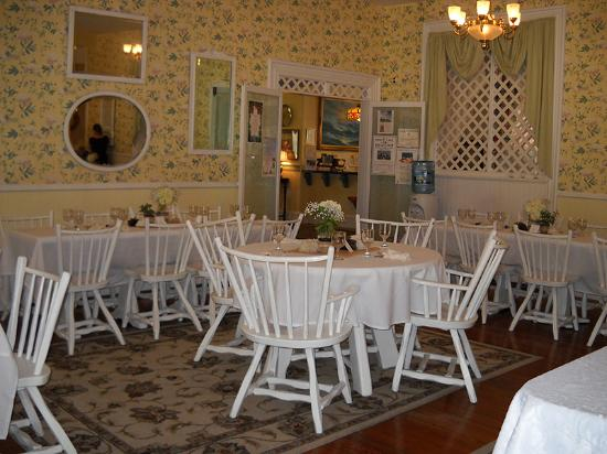 Dining Room at The Ocean House - Kate's Baby Shower