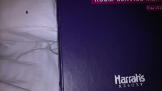 Harrah's Resort Atlantic City: bed bug on the pillow