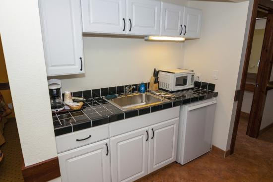Carson, WA: Wind River Suite Kitchenette