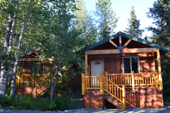Summit Lake Lodge : cabin