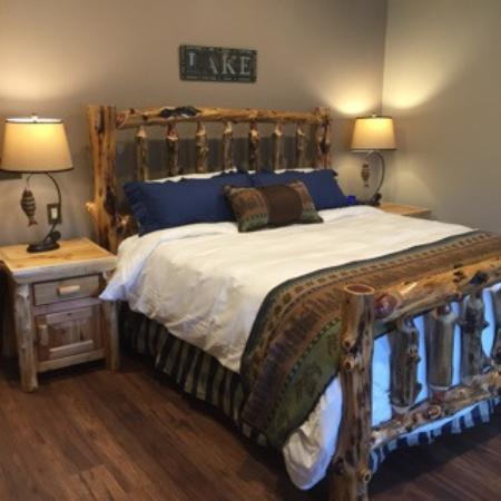 Moose Pass, อลาสกา: great bed