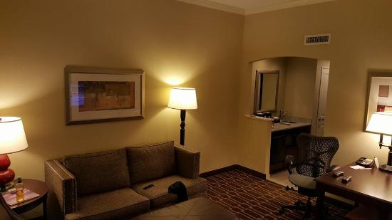 Embassy Suites By Hilton Tampa Downtown Convention Center My Living Room