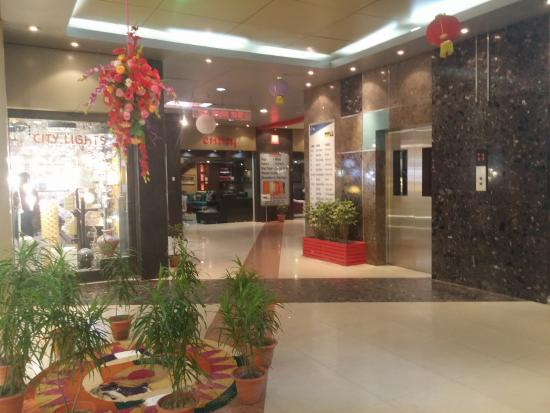 Diwali decorations picture of merlin homeland mall for Merlin decoration