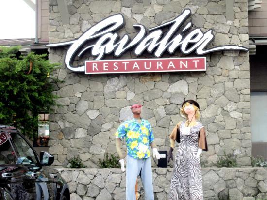 Cavalier Restaurant Scarecrow Festival October 2017 Best Western Oceanfront Resort