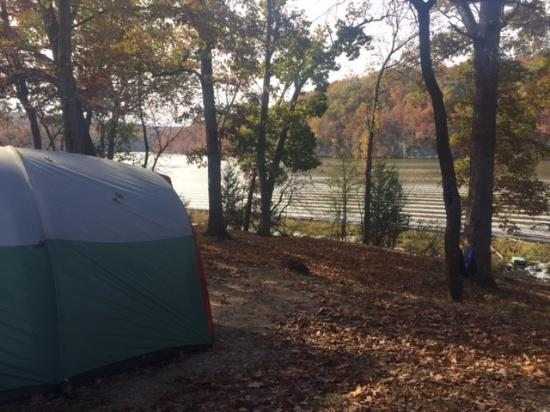 Kaiser, Missouri: Campsite 166