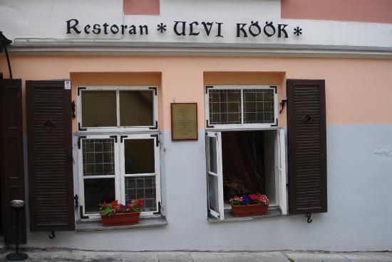 Ulvi Köök : Фасад