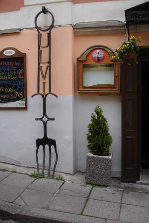 Ulvi Köök : Вход в ресторан