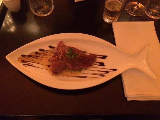 Rokkaa: Heerlijke culinaire ervaring gehad. Prima prijs kwaliteit verhouding. Ruime keuze in vis en vlee