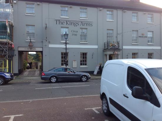 King's Arms Hotel: View from the main high street