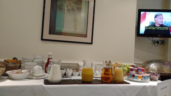 Staunton Hotel : desayuno