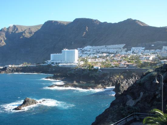 View from our room of los gigantes picture of barcelo santiago puerto de santiago tripadvisor - Puerto de los gigantes ...